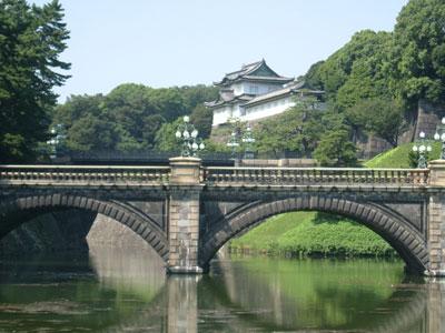 Imperial Palace at Nijubashi, Tokyo, Japan
